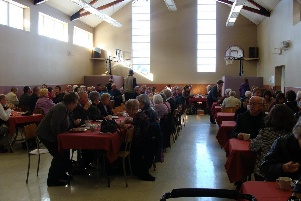 Rev. Dr. Andy O'Neill's Covenanting Service Potluck Luncheon