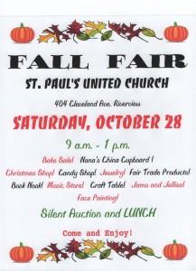 Fall Fair Poster 2017